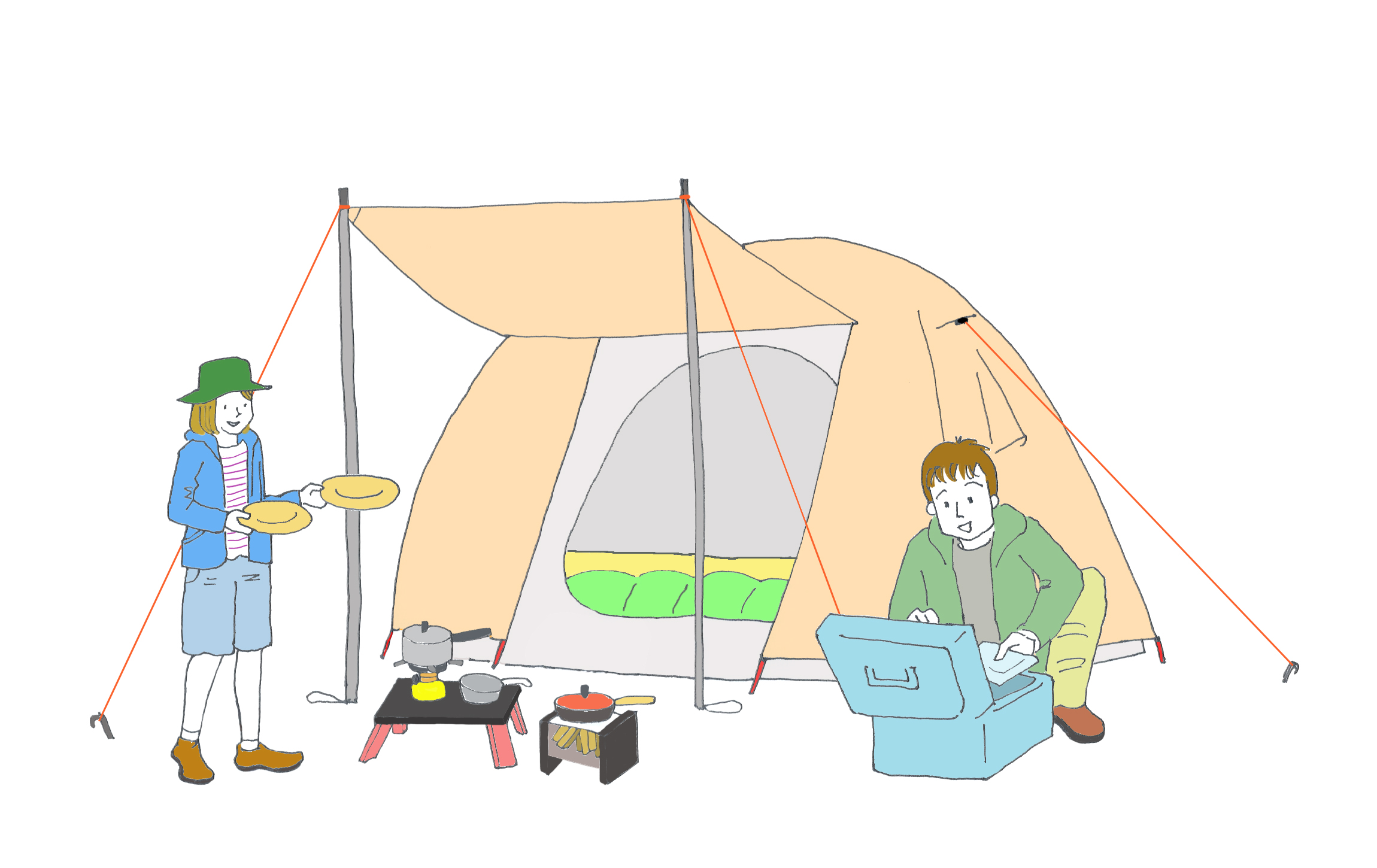 キャンプ 道具