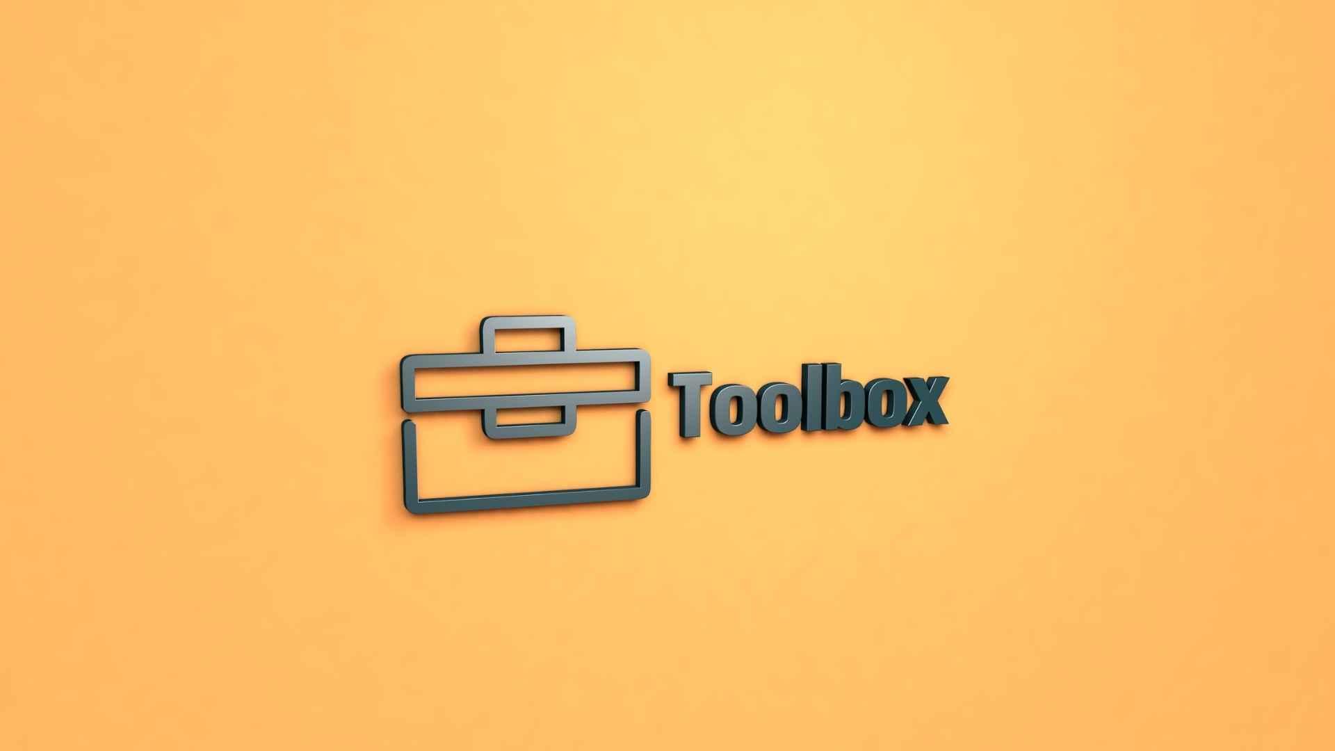 ペグを入れる工具箱